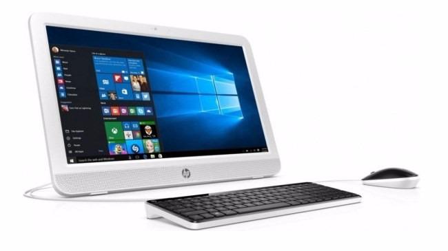 Computadora Hp Aio 20 e111la 19 Intel N3050 4gb 500gb W10