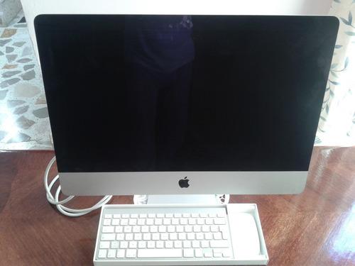 computadora imac con pantalla led 21.5 con retroiluminacion.