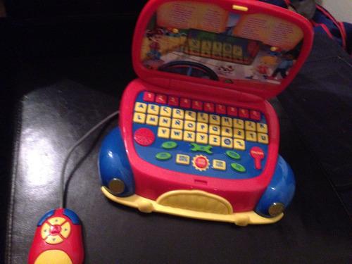computadora infantil con 25 actividades diferentes bilingues