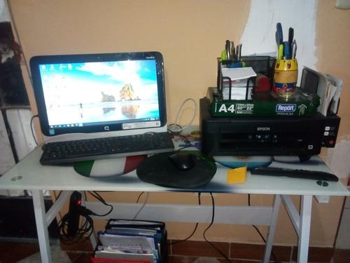 computadora integrada compac e impresora epson