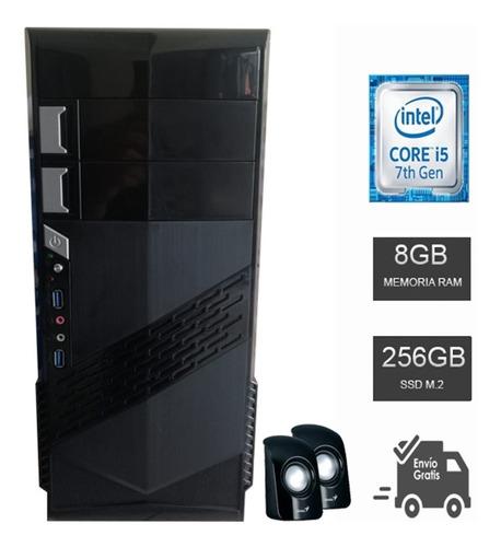 computadora intel core i5 7500t, ram 8gb ddr4, m2 256gb