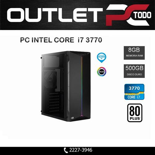 computadora intel core i7 3770, ram 8gb ddr3, disco 500gb