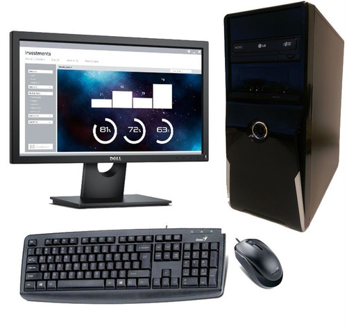 computadora intel i5-8400, memoria 8gb ram, di1tb