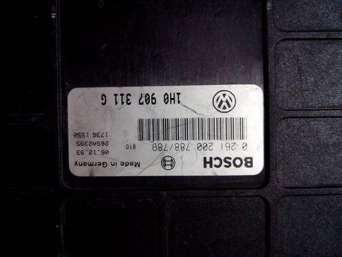 computadora jetta-golf 91-94, 1.8 lt. p/n. 1h0 907 311 g