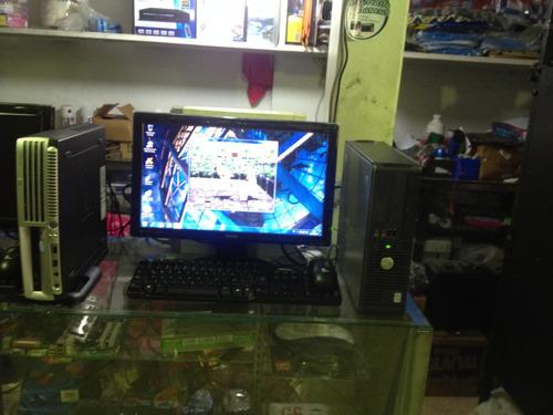 computadora lenovo con monitor lcd de 17 lenovo