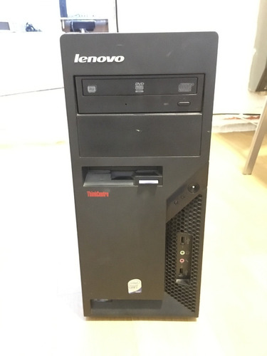 computadora lenovo thinkcentre core2duo 2gb 160 hdd usada
