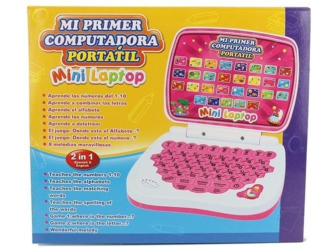 Computadora Mini Laptop Musica Juegos Ingles Espanol 250 00 En