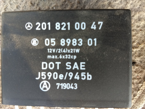 computadora modulo control relay wiper mercedes 2018210047