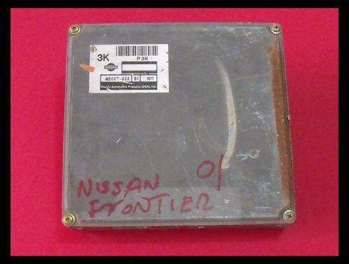 computadora nissan frontier mec07-322 3k 2001