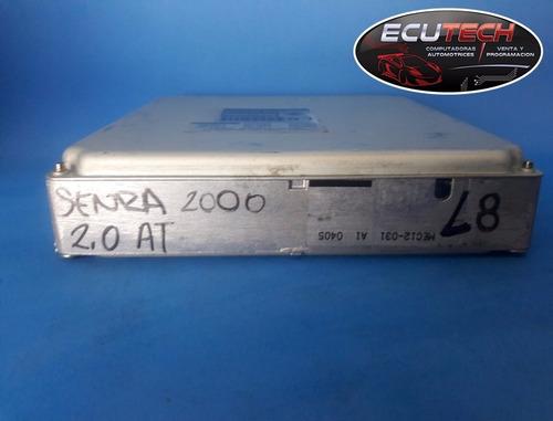 computadora nissan sentra  00 2.0  at. l8.  mec12-031