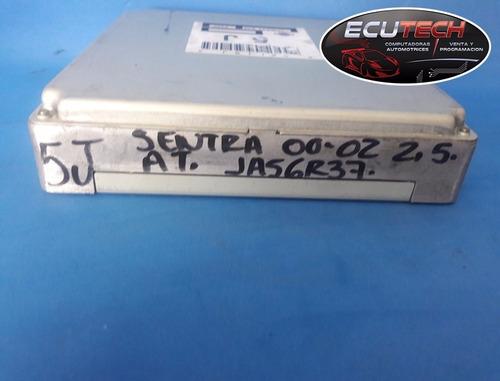 computadora nissan sentra 2000-02 2.5l at. 5j.  ja56r37 b95