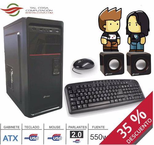 computadora nueva - para juegos y oficina
