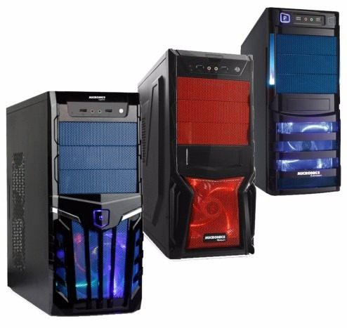 computadora pc completa amd a6-7400k 4gb 120gb ssd gamer +