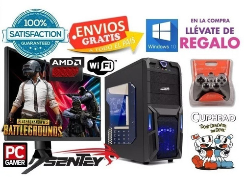 computadora pc completa ddr4 gamer wifi 6 año fortnite #1493