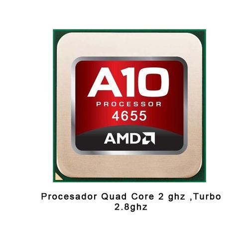 computadora pc cpu gamer a10 quadcore 8gb 500gb w10 hdmi kit