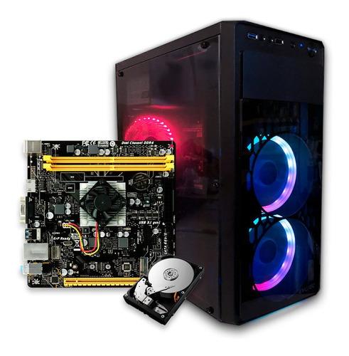 computadora pc cpu gamer amd a10 8gb 1tb graficos radeon r7