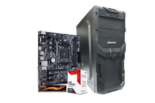 computadora pc cpu gamer barata amd a6 9500 radeon 8gb 500gb
