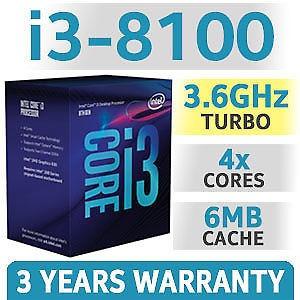 computadora pc cpu gamer intel i3 8100 ssd 120gb 1050 ti 80+