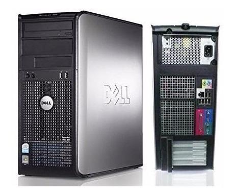 computadora pc dell optiplex intel 2.4ghz 2gb ram disco 160g