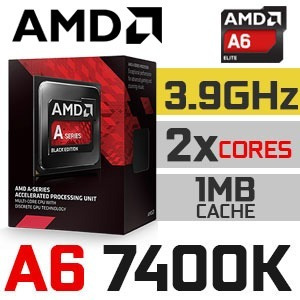 computadora pc gamer a6 7400k 8ram 1tb nvidia gt1030  hdmi
