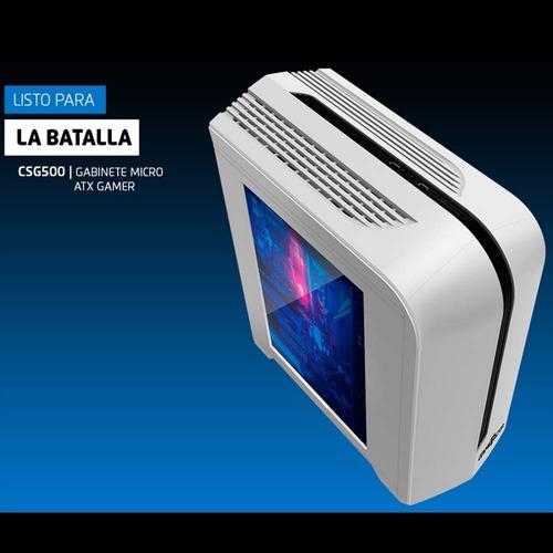 computadora pc gamer cpu amd ryzen 3 2200g 1tb 8gb 80+