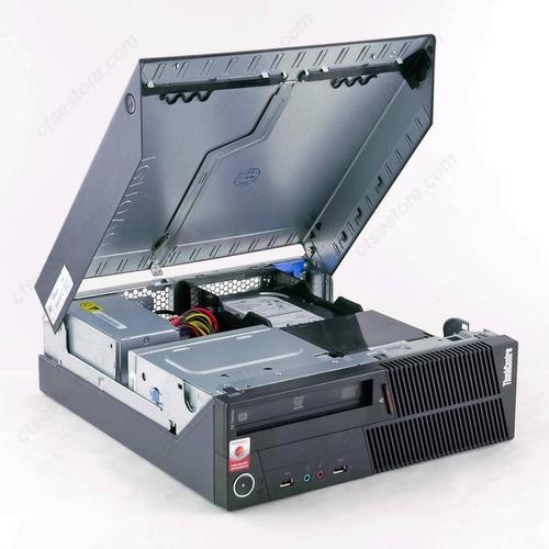 computadora pc lenovo ibm intel core i3 250gb 4gb tecl mouse