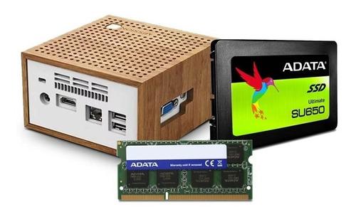 computadora pc mini intel dual core ssd 120gb ram 2gb hdmi