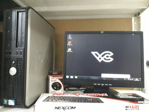computadora pentium e8400 dual core 3.0ghz 250gb dd cpu 2gb