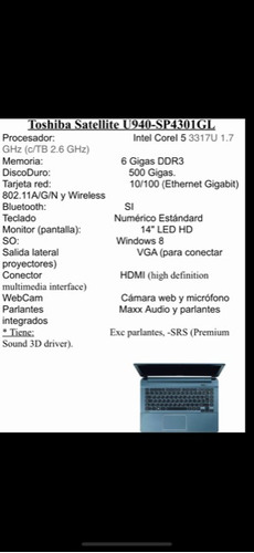 computadora portatil