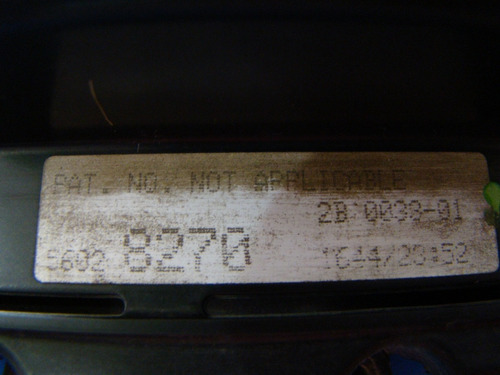 computadora ram pickup 1994-95, 3.9 lt, std, p/n. 56028270