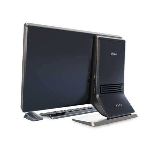 computadora siragon aio 7100 core i3 4gb w10 23 pulgadas