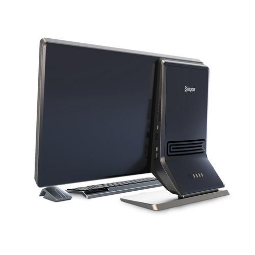 computadora siragon aio s5100 2030m 4gb w10 23 pulgadas