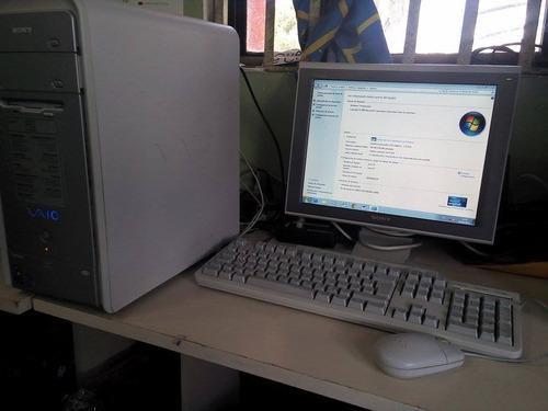 computadora sony vaio pcv-rs40m lcd 14