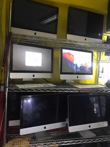 computadora  todo en uno  apple  imac 22 i3 4gb  250-500