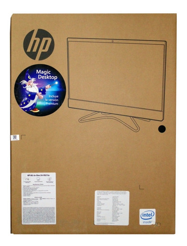 computadora todo en uno hp 24-f021la pentium 4gb 1tb dvd w1