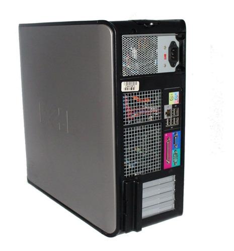computadora torre pc hp dell dual core + 4 gb + 80gb + wifi