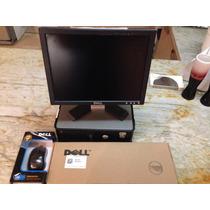 Combo Computadora Dell Optiplex Con Monitor Y Mause
