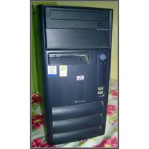 Pentium 4 Hp Compaq Con Monitor Hp Usado