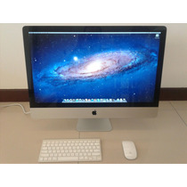 Apple Imac 27 Core I5 3.1 Ghz - 16gb Ram Mid 2011 Mc814ll/a