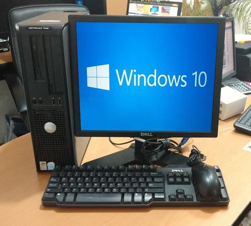 computadoras baratas core 2 duo cpu pc ciber cafe 2gb- 500gb
