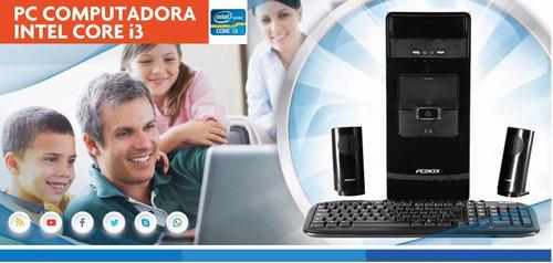 computadoras de escritorio - intel i3 4gb ram hdd 1tb o ssd