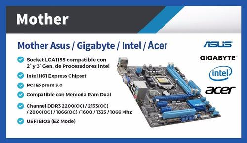computadoras nuevas completas pc intel i7 16gb pc escritorio