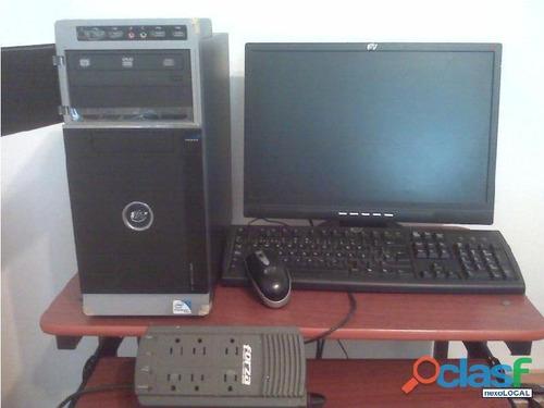 computadoras pc  500 gb dd core2duo i3  amd 4gb 8 gb ram