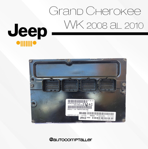 computadoras pcm ecu de  jeep grand cherokee (wk) 2008-2010