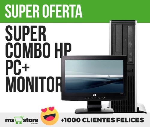 computadores hp dual core 2.1ghz-lcd 15 wide -gratis envio