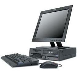 computadores lenovo hp dell intel +2giga ram 40gb lcd 15