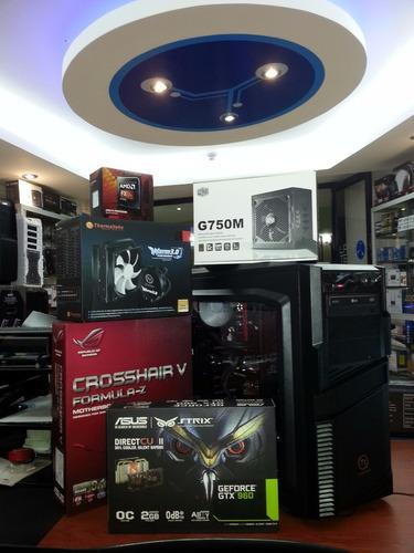 computadores pc alta gama para gamers, profesionales u hogar