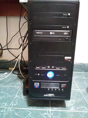 computadra escritorio- 8gb 1tb + monitor + teclado + mousse