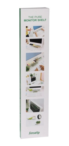 computer screen monitor shelf display transparent storage