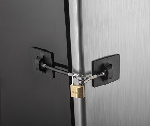 computer security products cerradura de la puerta del refrig
